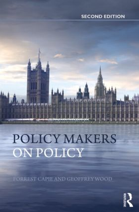 Policy Makers on Policy: The Mais Lectures, 2nd Edition (Hardback) book cover