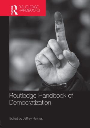 Routledge Handbook of Democratization (Hardback) book cover