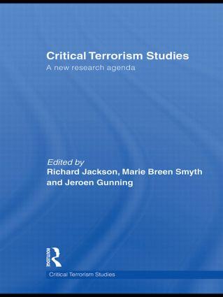 Critical Terrorism Studies: A New Research Agenda book cover