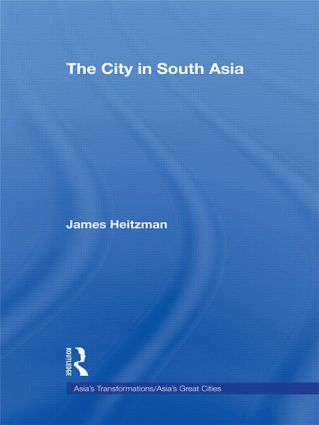 The City in South Asia (Paperback) book cover