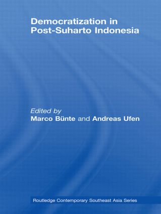Democratization in Post-Suharto Indonesia: 1st Edition (Paperback) book cover