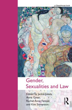 Gender, Sexualities and Law (Hardback) book cover