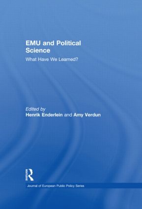 EMU and Political Science: What Have We Learned? (Hardback) book cover