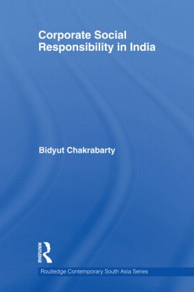 Corporate Social Responsibility in India (Hardback) book cover