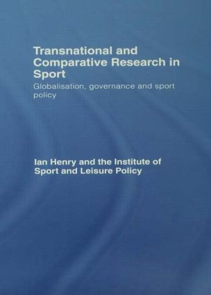 Transnational and Comparative Research in Sport