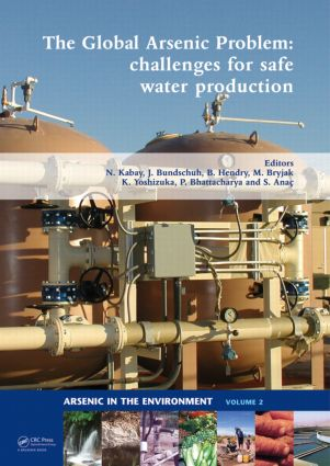 The Global Arsenic Problem: Challenges for Safe Water Production (Hardback) book cover