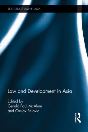 Law and Development in Asia (Hardback) book cover