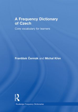 A Frequency Dictionary of Czech: Core Vocabulary for Learners book cover