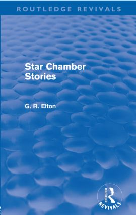 Star Chamber Stories (Routledge Revivals)