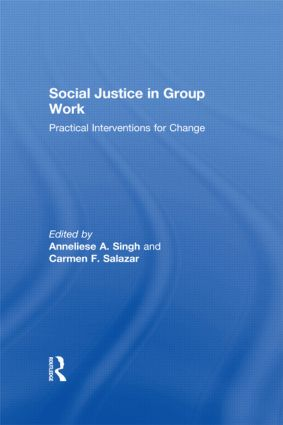 Social Justice in Group Work: Practical Interventions for Change (Hardback) book cover