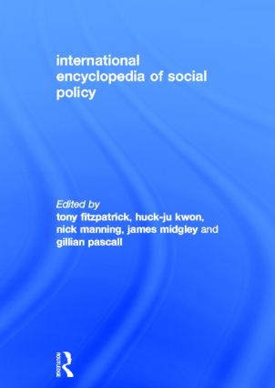 International Encyclopedia of Social Policy (Paperback) book cover