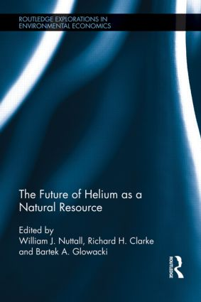 The Future of Helium as a Natural Resource (Hardback) book cover