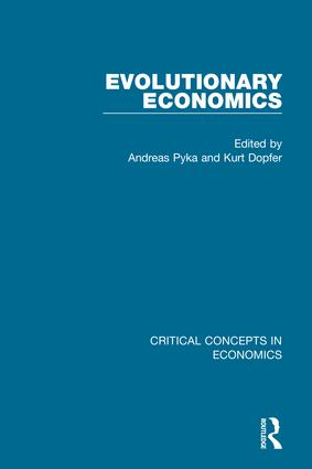Evolutionary Economics book cover