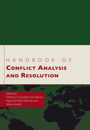 Handbook of Conflict Analysis and Resolution (Paperback) book cover