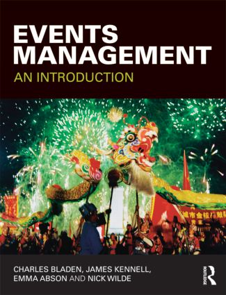 Events Management: An Introduction (Paperback) book cover