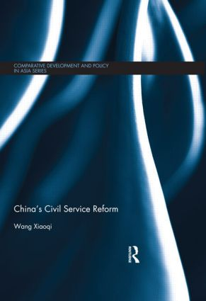 China's Civil Service Reform (Hardback) book cover