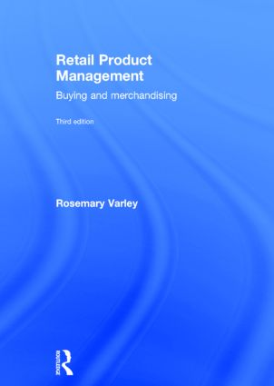Retail Product Management: Buying and merchandising book cover