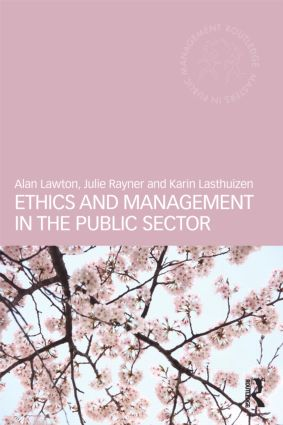 Ethics and Management in the Public Sector (Paperback) book cover