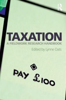 Taxation: A Fieldwork Research Handbook, 1st Edition (e-Book) book cover