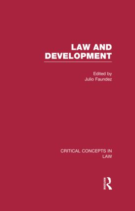 Law and Development (Hardback) book cover