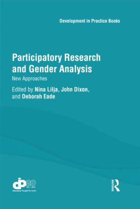 Participatory Research and Gender Analysis: New Approaches (Hardback) book cover