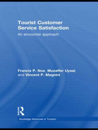 Tourist Customer Service Satisfaction: An Encounter Approach book cover