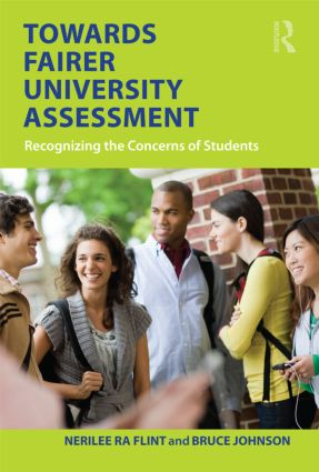 Towards Fairer University Assessment: Recognizing the Concerns of Students (Paperback) book cover