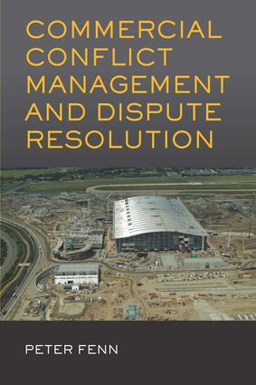 Commercial Conflict Management and Dispute Resolution (Paperback) book cover