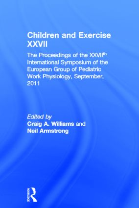 Children and Exercise XXVII book cover