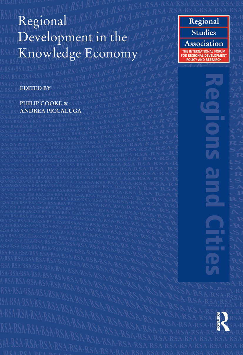 Regional Development in the Knowledge Economy (Paperback) book cover