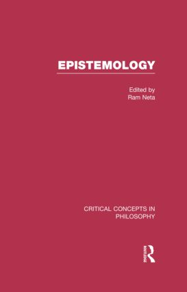 Epistemology: 1st Edition (Hardback) book cover