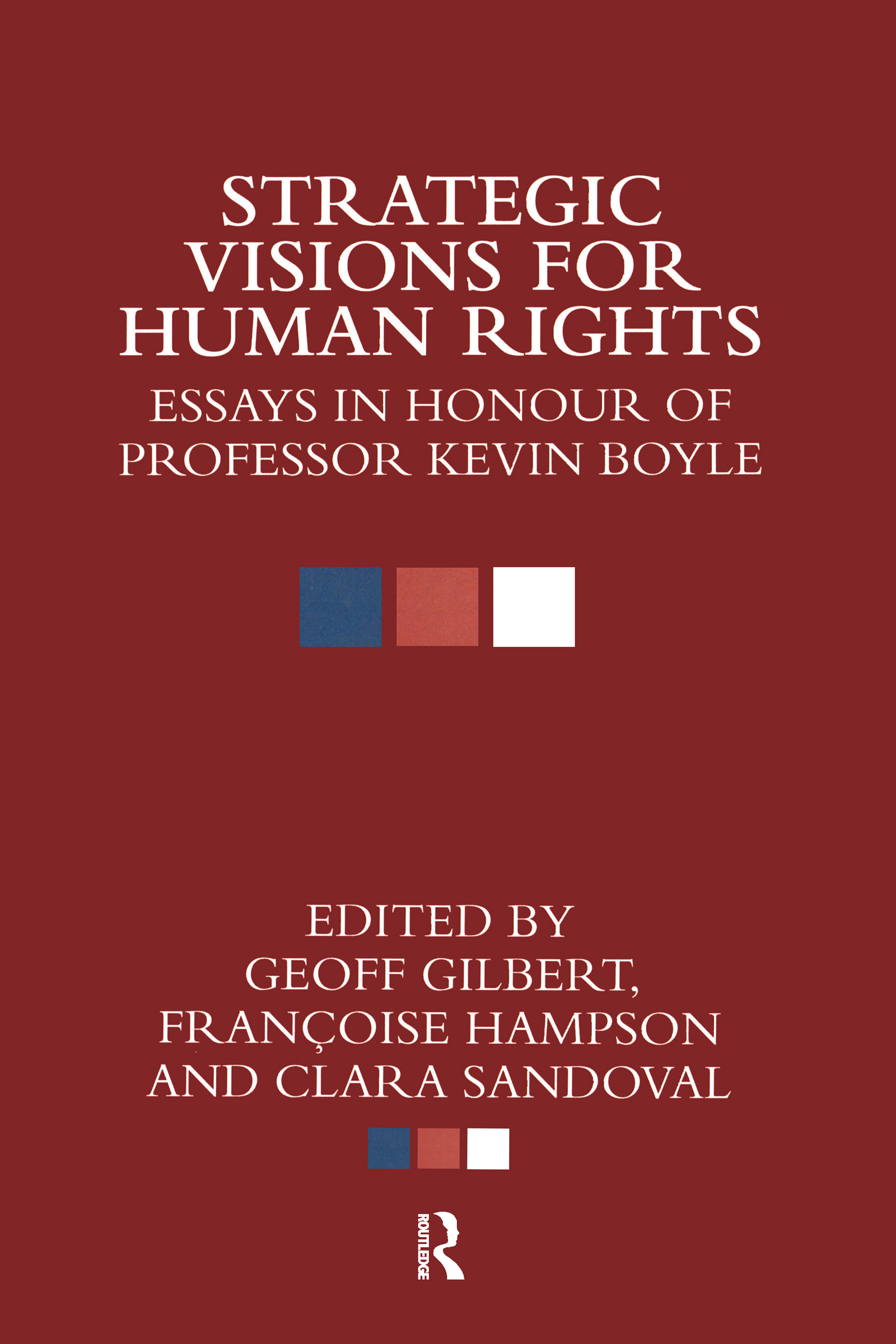 Strategic Visions for Human Rights: Essays in Honour of Professor Kevin Boyle (Hardback) book cover