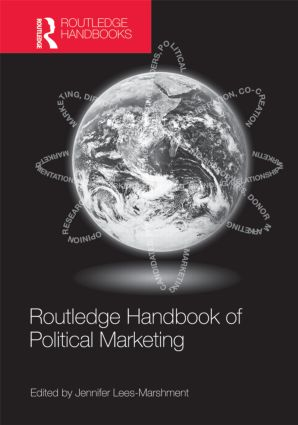 Routledge Handbook of Political Marketing (Hardback) book cover