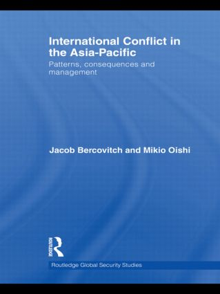 International Conflict in the Asia-Pacific: Patterns, Consequences and Management (Hardback) book cover