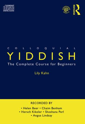 Colloquial Yiddish book cover