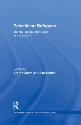 Palestinian Refugees: Identity, Space and Place in the Levant (Hardback) book cover