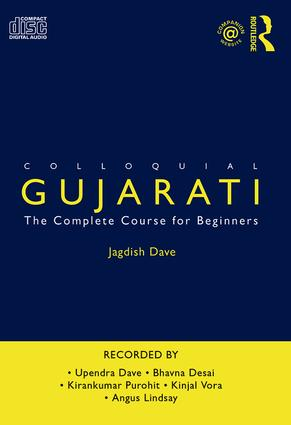 Colloquial Gujarati: The Complete Course for Beginners book cover