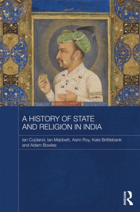 A History of State and Religion in India (Hardback) book cover