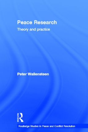 Peace Research: Theory and Practice book cover