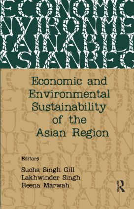 Economic and Environmental Sustainability of the Asian Region (e-Book) book cover