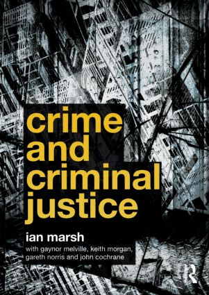 Crime and Criminal Justice (Paperback) book cover