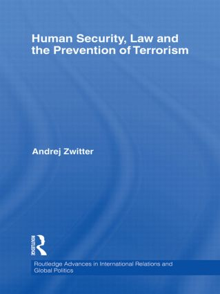 Human Security, Law and the Prevention of Terrorism (Hardback) book cover