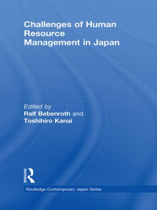 Challenges of Human Resource Management in Japan (Hardback) book cover