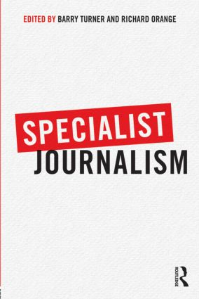 Specialist Journalism: 1st Edition (Paperback) book cover