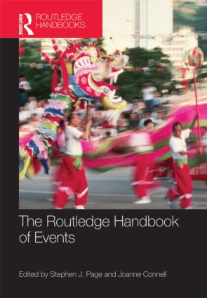 The Routledge Handbook of Events (Hardback) book cover