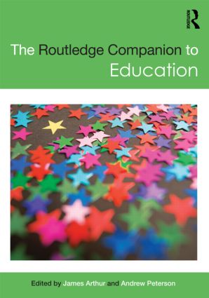 The Routledge Companion to Education (Paperback) book cover