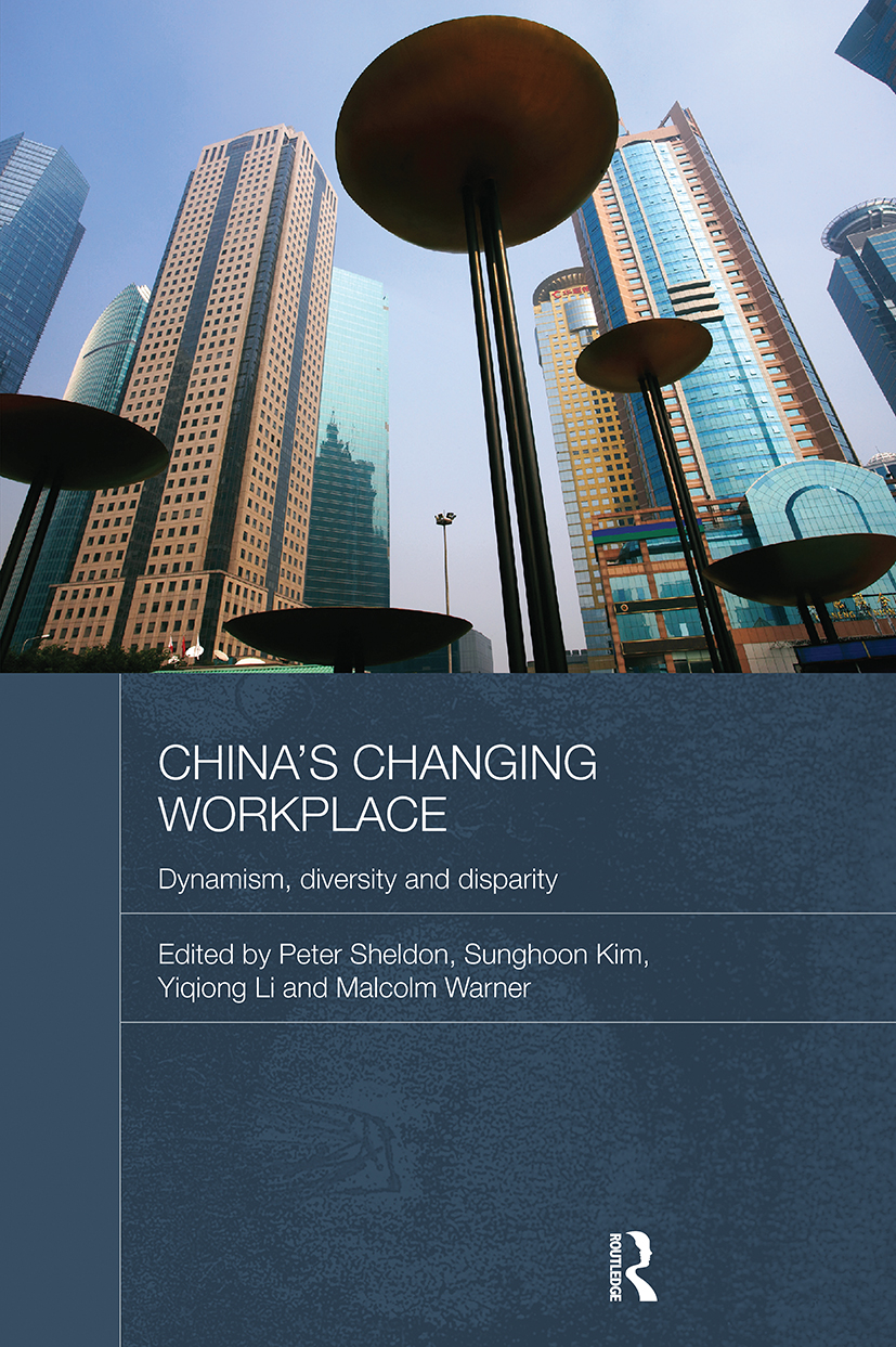 China's Changing Workplace: Dynamism, diversity and disparity (Hardback) book cover