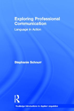 Exploring Professional Communication: Language in Action book cover