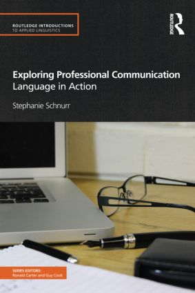 Exploring Professional Communication: Language in Action (Paperback) book cover