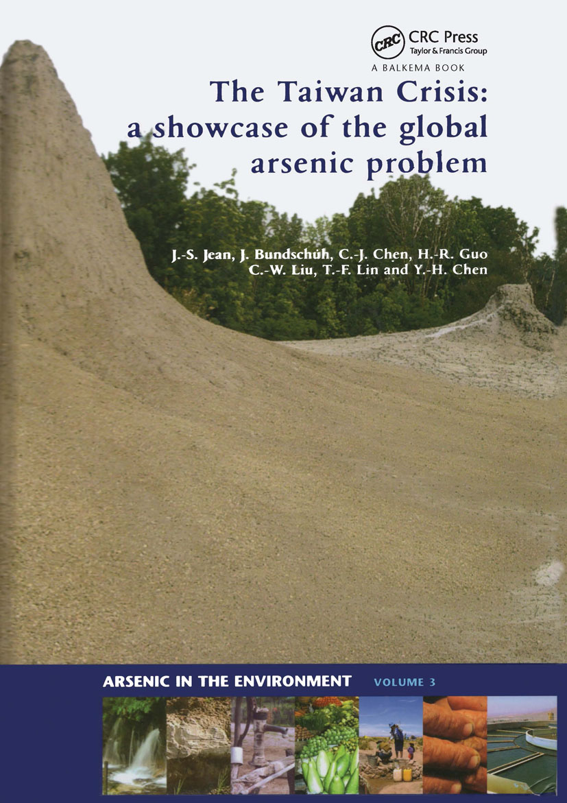 The Taiwan Crisis: a showcase of the global arsenic problem: 1st Edition (Hardback) book cover